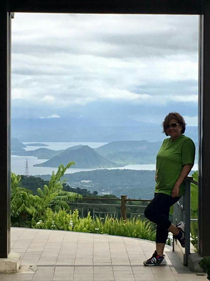 Twin Lakes, Tagaytay City, Philippines.