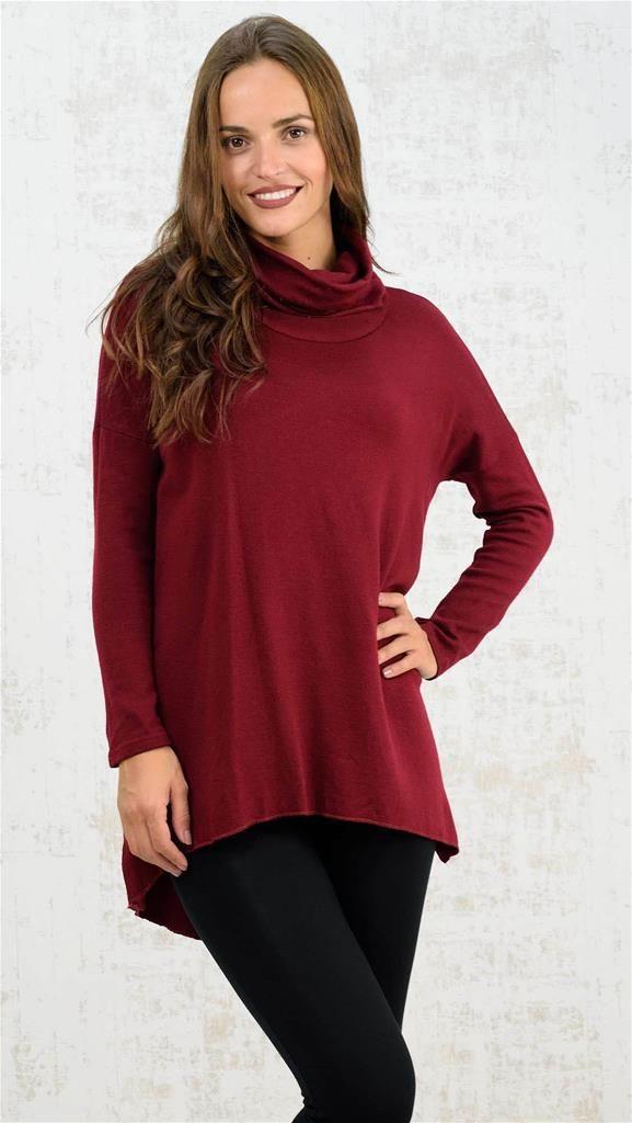 Πλεκτή μπλούζα με ζιβάγκο | Χειμερινή Collection 2016 | Potre