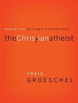 The Christian Athiest by Craig Groeschel -'The more I looked, the more I found Christian Atheists everywhere.' Former Christian Atheist Craig Groeschel knows his subject all too well. After over a decade of successful ministry, he had to make a painful self admission: although he believed in God, he was leading his church like God didn't exist. Join Pastor Craig Groeschel for an honest, hard-hitting look into the ways people believe in God but live as if He doesn't exist.
