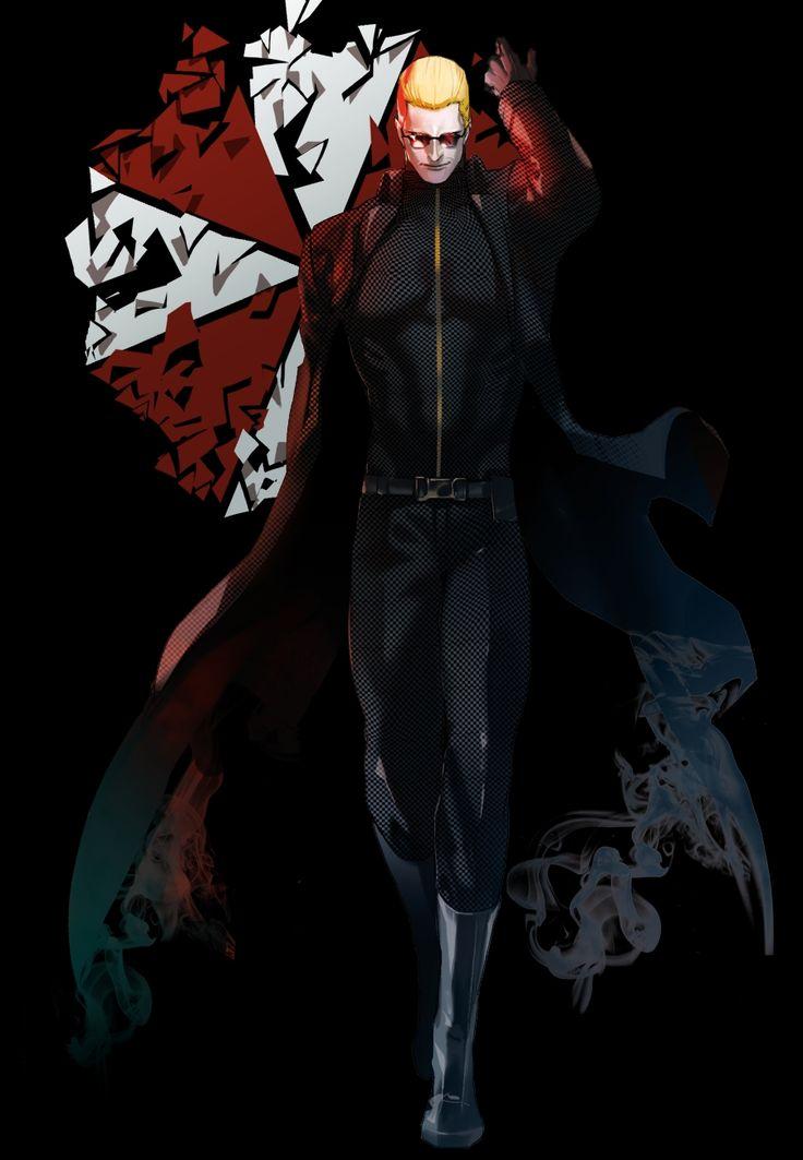 Albert Wesker Resident Evil Corporation Umbrella