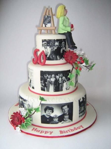 Ideas For Th Birthday Cake For Mum