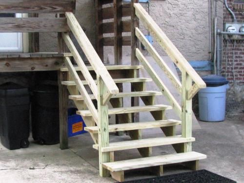 Best 4 Step Pressure Treated Pine Stair Stringer 106070 The 400 x 300