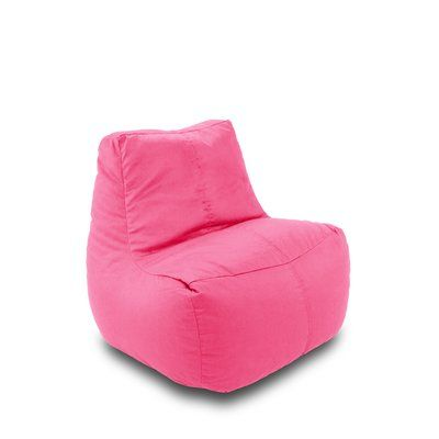 Ace Casual Furniture Ace Bayou Bean Bag Lounger Upholstery: Pink