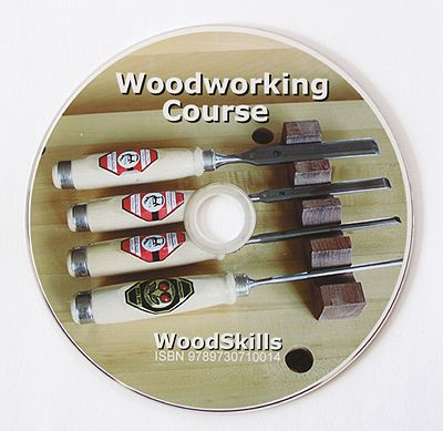 Learn woodworking with the WoodSkills Woodworking Course DVD