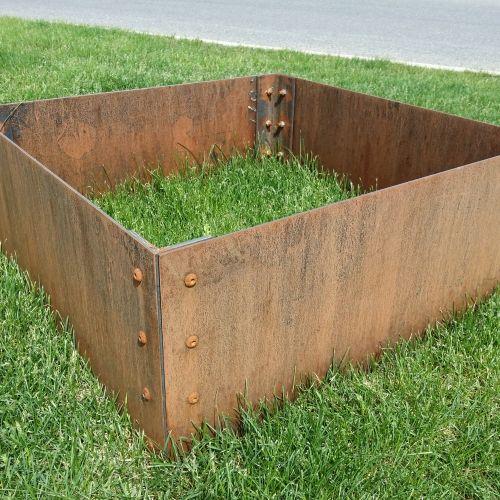 Best 25 corten steel planters ideas on pinterest steel for Cubicle planter box