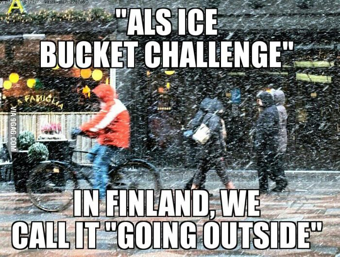 Welcome to Finland.