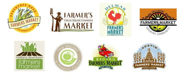 Farmers-Market-logos | Farmers market logo, Graphic design ...