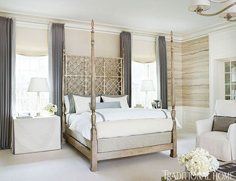 17 best images about h o m e bedroom on pinterest for Beautiful traditional bedroom ideas