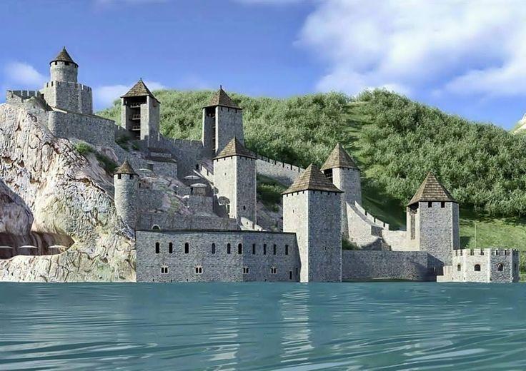 2016-ra újjáépül!  Ilyen lesz  Vár az Al-Duna partján - Galambóc - Délvidék