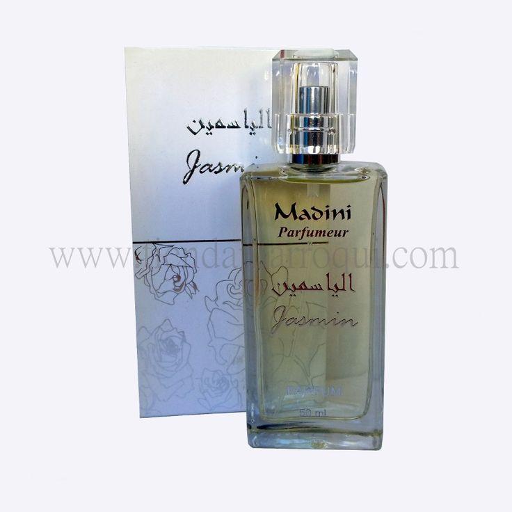Perfume jazmín de Perfumería Madini Marruecos. Si te gustan los perfumes árabes, estos te fascinarán. Envío inmediato