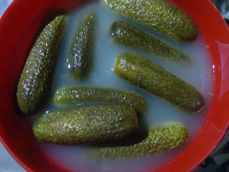Kovászolt uborka -  Egy nagy kedvencemet teszem most közzé, úgy ahogy én szoktam készíteni. Kimondottan behűtve szeretem,