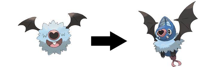 Woobat Evolution Chart Pin Evolution O...