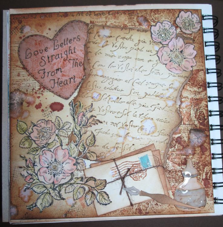 Journal 52 - Week 6, The lost art of love letters