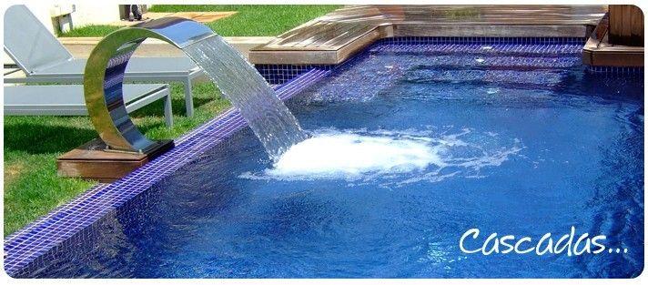 M s de 10 ideas incre bles sobre cascada de la piscina en for Piletas con cascadas