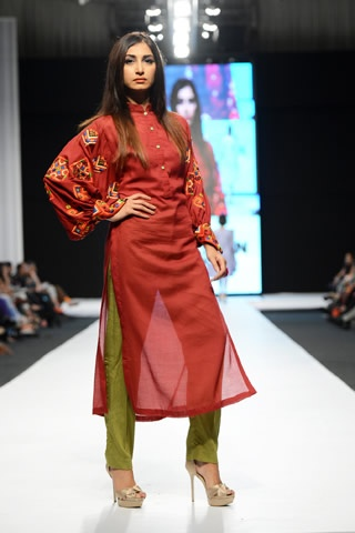 Ishtiaq Afzal Collection at Fashion Pakistan Week 2013