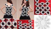 Pletenie Shirt Modely a príprava vzoriek