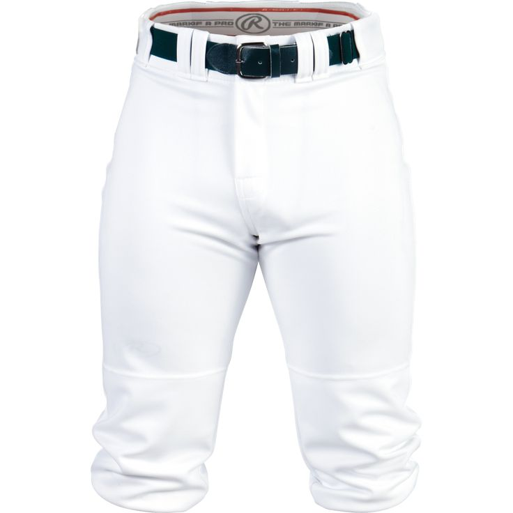 Rawlings Plated Mens Knicker Baseball Pant, White
