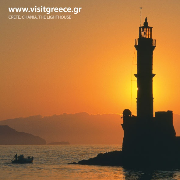 VISIT GREECE| Sunset over Chania Harbour #Crete #Crece #Chania