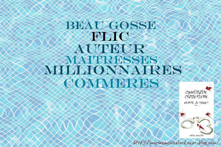 Flic, écrivain, riche, auteur, beau gosse, Commissaire Chassepierre, Meurtre au Touquet, polar
