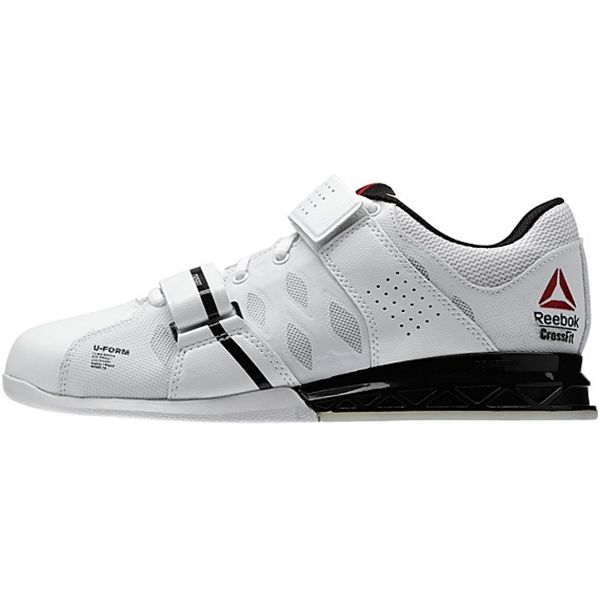 Reebok Women's CrossFit Lifter Plus 2.0 Style #: M43656 in White Black Porcelain | Olympic Weightlifting Shoe available at www.TheShoeMart.com #TheShoeMart