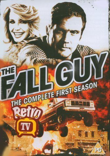 THE FALL GUY: Created by Glen A. Larson.  With Lee Majors, Douglas Barr, Heather Thomas, Markie Post. The adventures of a film stunt performer who moonlights as a bounty hunter when movie work is slow.