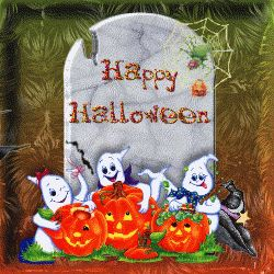 animated gif Halloween e cards | Scary Halloween Greetings Animated Gifs