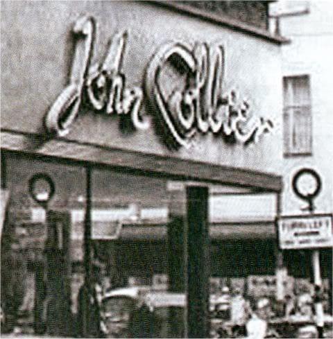 """John Collier, John Collier, the window to watch."""