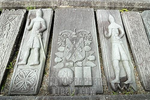 Medieval gravestones near Kilmartin, Scotland