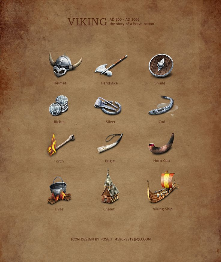 VIKING-ICONS-Complete Version by poseit