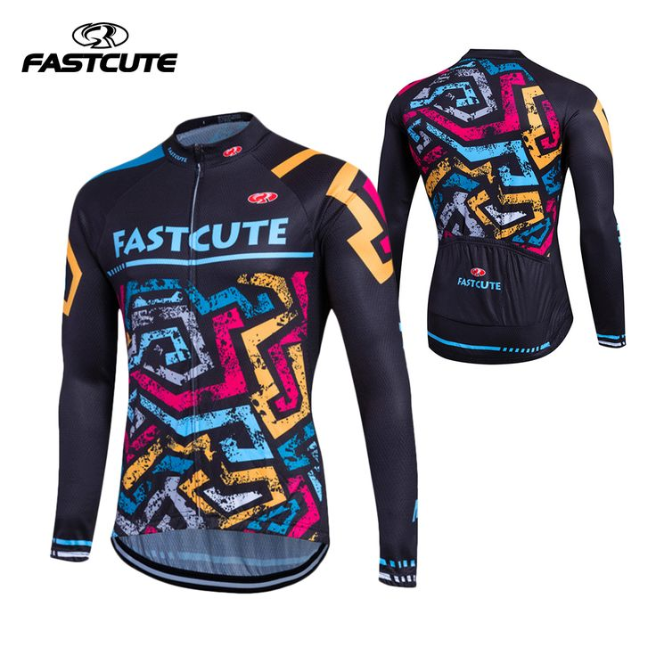 FASTCUTE 2017 Cycling Jersey Long Sleeve Mtb Clothing Bike Wear Clothes Kit Bicycle Maillot Roupa Ropa De Ciclismo Hombre #Affiliate