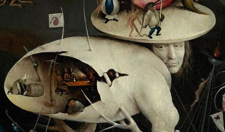 Details from Bosch's Garden of Earthly Delights (ca. 1500) | The Public Domain Review