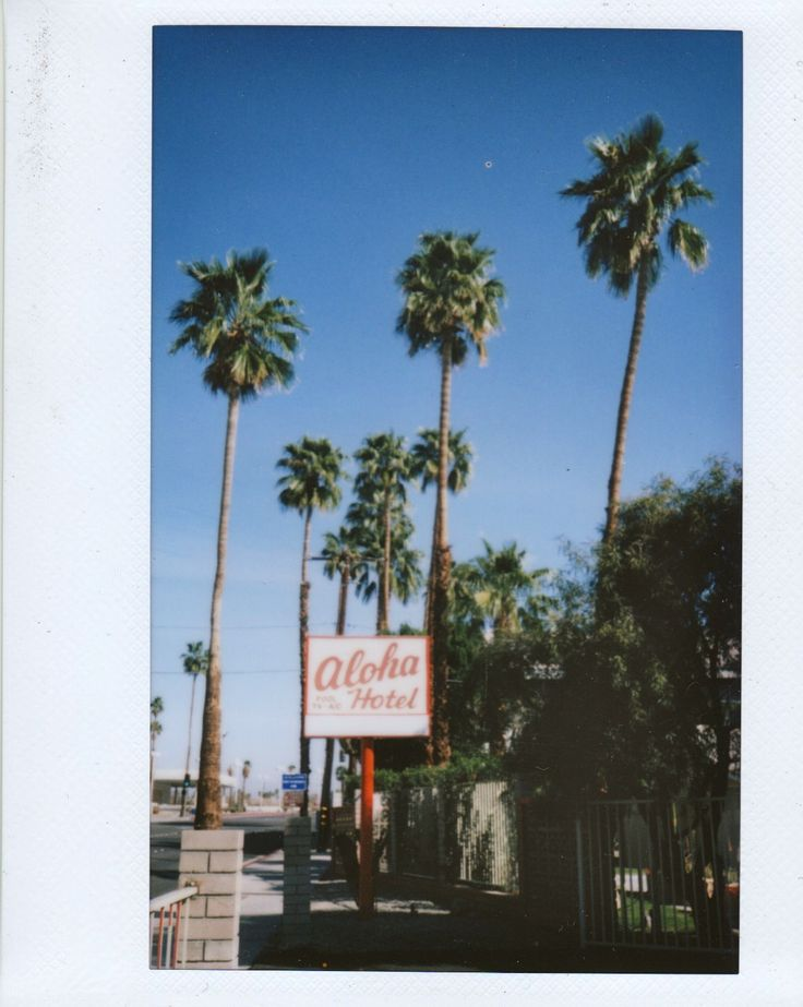 Aloha Motel Palm Springs