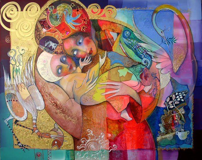 Painting by Irina Karkabi | Artodyssey: Delamonica