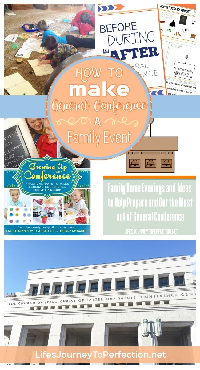 """How to Make General Conference A Family Event. Including a book review of """"Growing up with Conference""""; and a guide from Temple Square for Attending General Conference"""