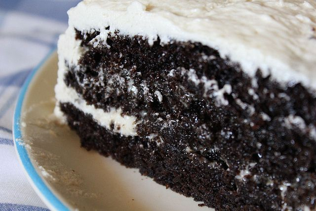 Chocolate Cake With Cooked Vanilla Frosting (I'm soooo making this....)Glorious Food, Cake Recipe, Chicken Recipes, Frostings Recipe, Foodie'S Dreams, Chicken Chili, Frosting Recipes, Favorite Recipe, Food Pics