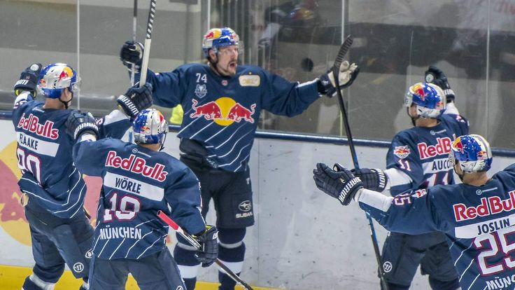 Eishockey-Fight in Mannheim: Meister München hat drei Matchbälle