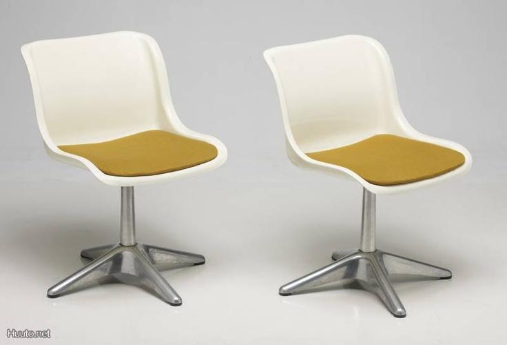 Yrjö Kukkapuro Haimi tuolit / Haimi chairs designed by Yrjö Kukkapuro