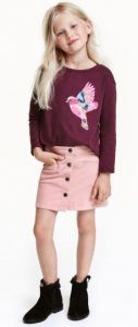 hm-skirt-girl Skirts H&M (2-10 years)