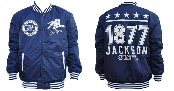 Jackson State University Lightweight Jacket - Brothers and Sisters' Greek Store