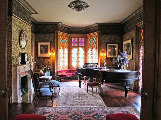 1056 Best Victorian Interiors Images On Pinterest