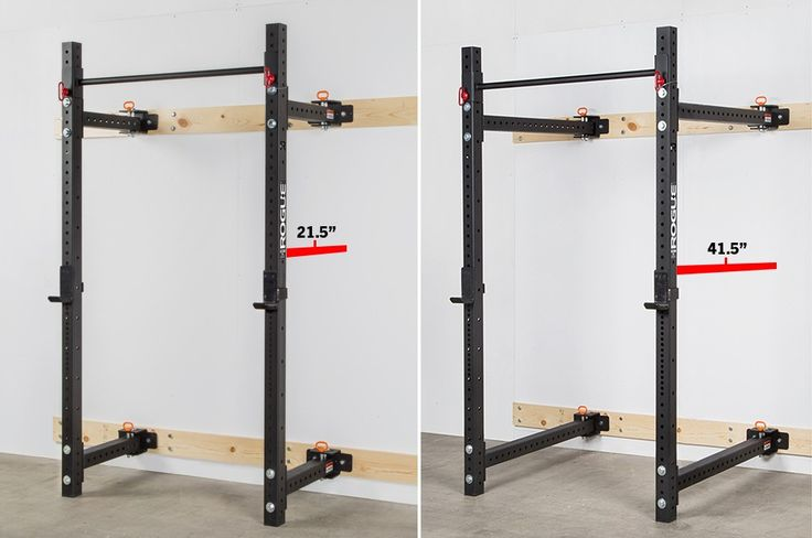 Rogue Rml 3w Fold Back Wall Mount Rack Rogue Fitness Wall Mount Rack Home Gym Design Diy Home Gym