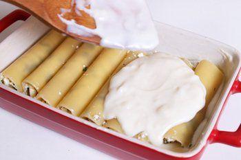 Каннеллони, фаршированные сыром - рецепт с пошаговыми фото / Меню недели