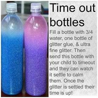 Sensory Bottle / Time Out