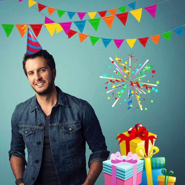 Happy Birthday, Luke Bryan ❤️