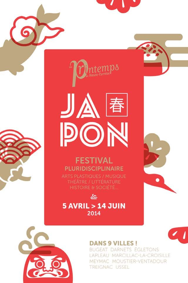 Japon, Festival Pluridisciplinaire, arts plastiques, musique, théâtre, littérature, histoire  société… Haute Corrèze