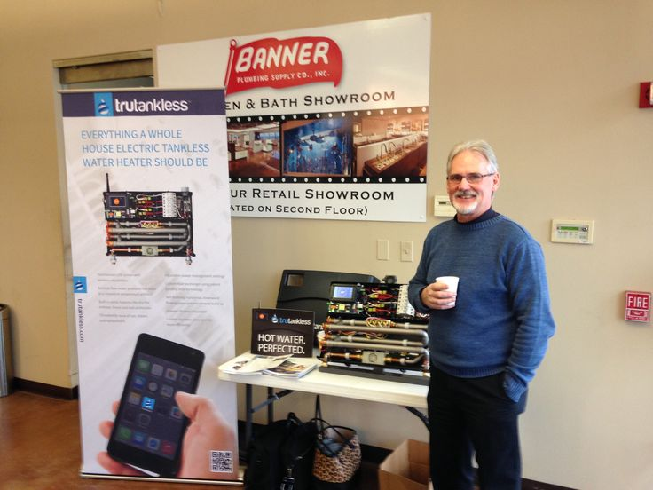 trutankless hosting a counter day at Banner Plumbing Supply in Buffalo Grove, Illinois!