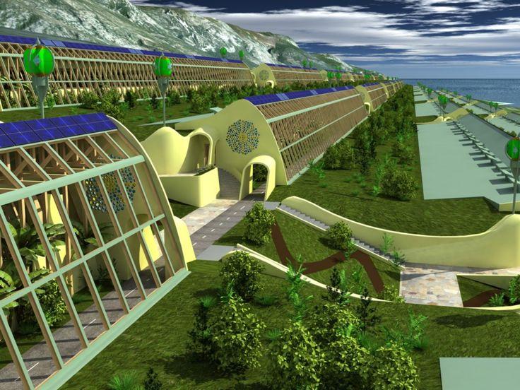 City Concept by Michael Reynolds Rendering by Baki Calgar