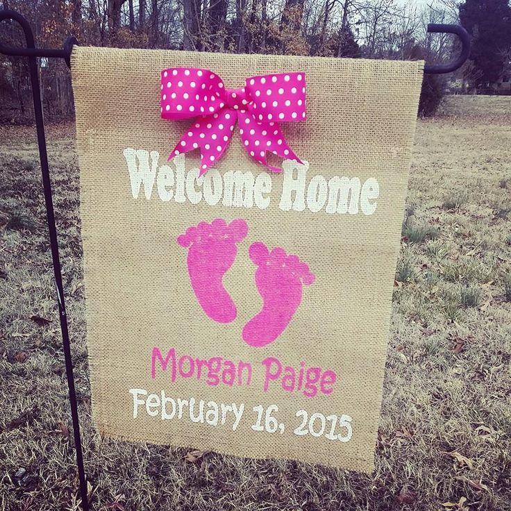 Best 25 Welcome home baby ideas – Baby Girl Announcements Pinterest