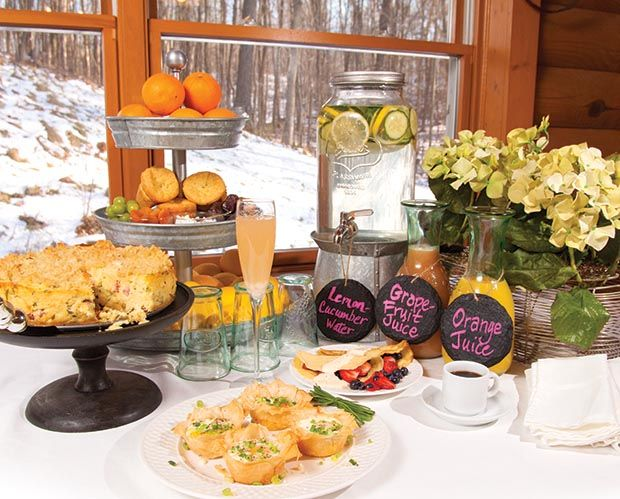 Lovely Brunch Party With Recipes Party Pinterest