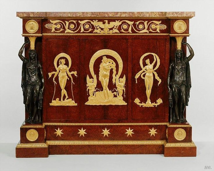 Pierre Philippe Thomire (1751-1843) French Empire Cabinet 1800 French.